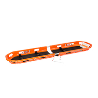 2 Piece Basket Stretcher with Straps for Emergency