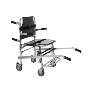 Professional Emergency Manual Stair Stretcher with Four Wheels For Patient