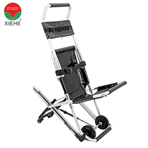 Ambulance Adjustable Patient Stair Stretcher with Four Wheels