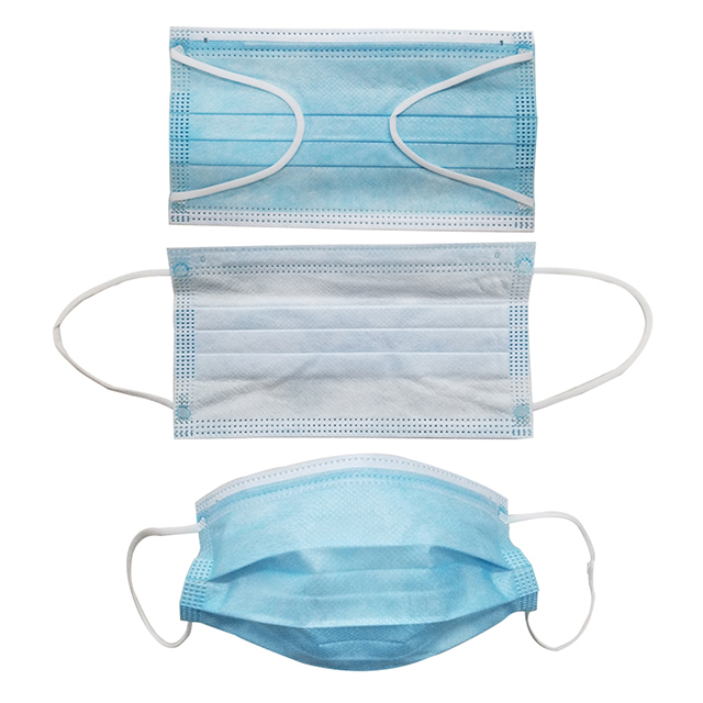 Blue Protective Disposable Face Mask