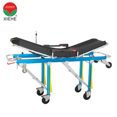 救护车自动装载折叠椅担架与轮子紧急情况
