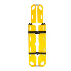 在医院抢救带背带的脊柱勺担架