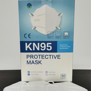 Disposable Covid KN95 Face Mask with Head Strap