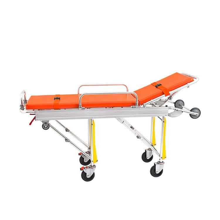 铝加载救护车担架折叠式医疗设备医院设备类型