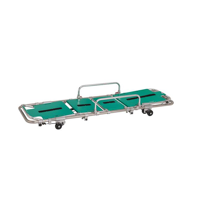 新的可调节的运输救护车担架与软床垫